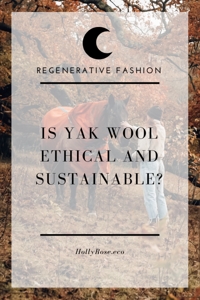 yak wool regenerative sustainable