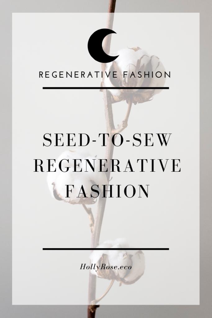 regenerative organic cotton
